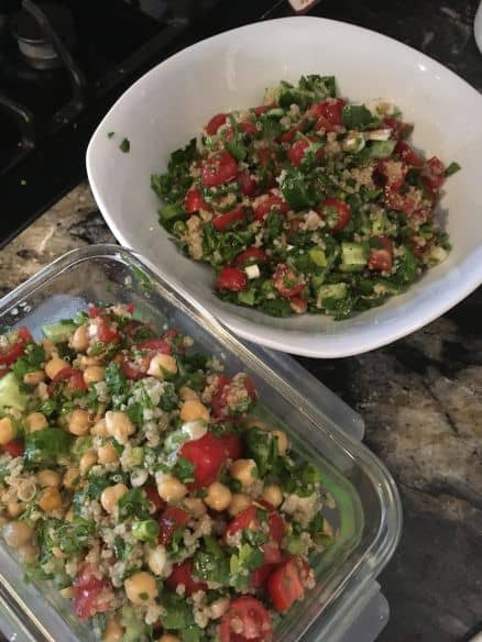 chickpea tabouleh